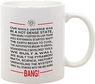 bubbleshirt Tazza Mug in Ceramica Sigla The Big atomo Serie: Amazon.it:  Sport e tempo libero