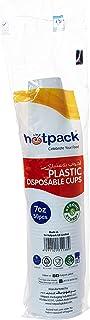 Hotpack Disposable Plastic Cups - 7Oz - 50 Pcs (PCPP)