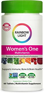 Rainbow Light Women's One Daily High Potency Multivitamin for Immune Support with Vitamin C, D &...