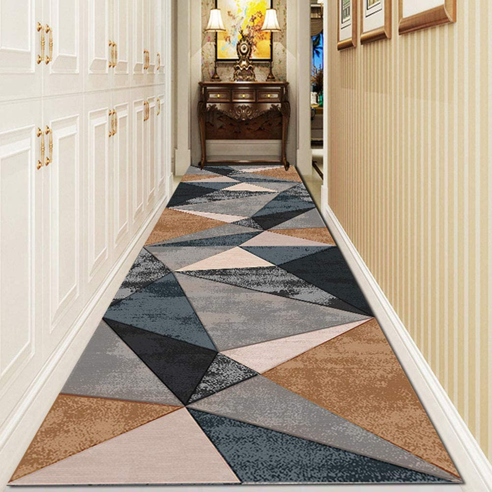 Aabbcdf New color Carpet Runners for Hallway Geometric Nordic Chicago Mall Fashion Pat