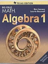 Best big ideas math algebra 2 texas edition Reviews