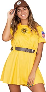 Racine Belles AAGPBL Baseball Womens Costume Dress
