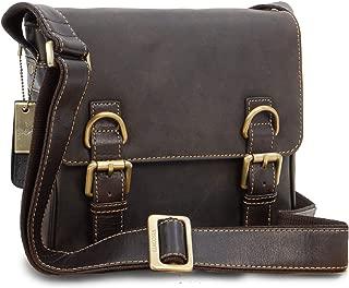 Visconti Messenger Organiser Bag- Genuine Leather -iPad/Kindle/Flap Over/Shoulder/Cross Body/Work Bag/Leisure - 16012 - RUMBA
