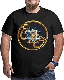 ELO Men T Shirts Plus Size Particular Motion T Shirt Black