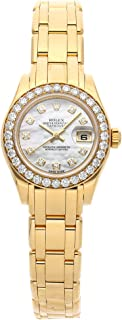 Rolex Datejust Mechanical (Automatic) Mother-of-Pearl Dial Womens Watch 80298 (Certified Pre-Owned)