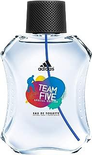 Adidas Team Five - perfume for men, 100 ml - EDT Spray