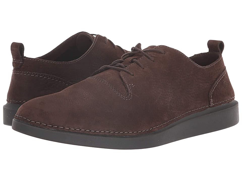 Clarks Hale Lace (Dark Brown Nubuck) Men