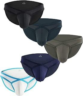Mens Sexy Micro Mesh Briefs Soft Breathable Bulge Pouch Underwear