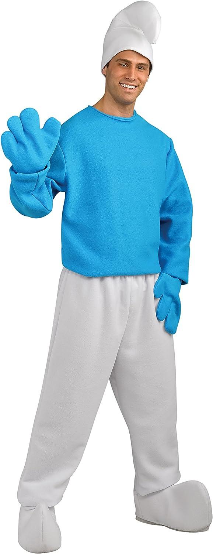 oferta de tienda Smurfs  The Lost Village Smurf Deluxe Adult Costume Costume Costume X-Large  suministramos lo mejor