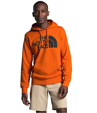 The North Face Half Dome Pullover Hoodie (Heritage Orange/TNF Black) Men