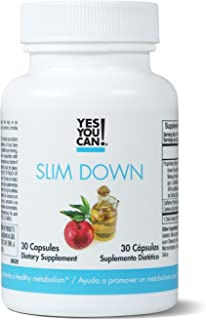 Yes You Can! Slim Down - Boost Your Metabolism, Increase thermogenesis. African Mango, L-Carnitine, Apple Cider Vinegar, G...