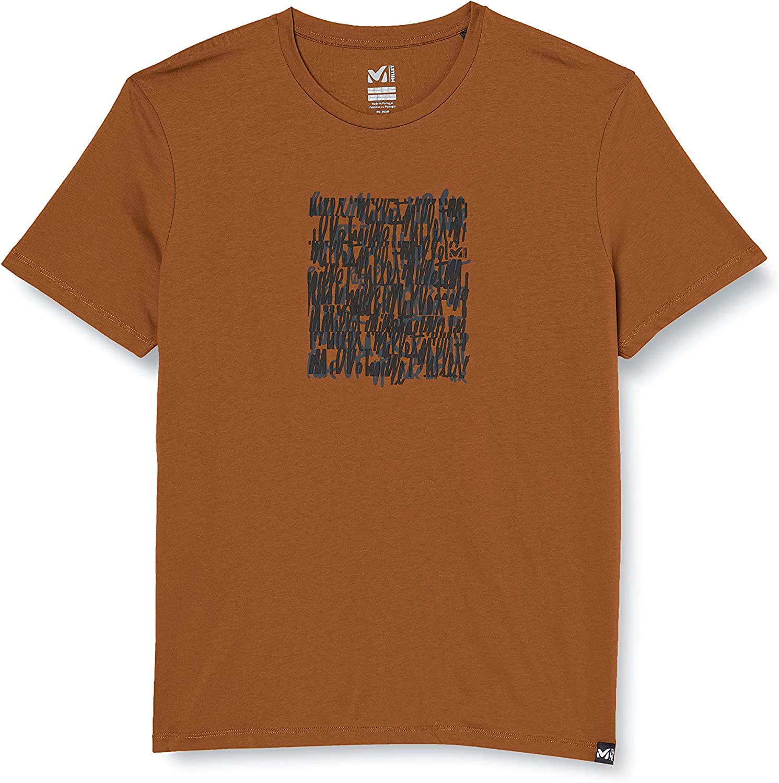 Millet Script T-Shirt Hombre
