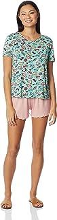 Pijama Blusa + Shorts, Malwee Liberta, Feminino