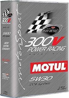 Motul 104242 300V 5w30 Racing OilSynthethic 2 Liters, 67.62 Fluid_Ounces