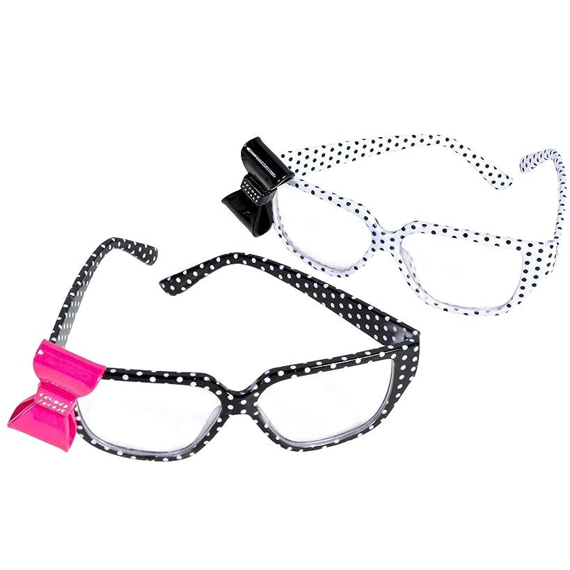 Rhode island novelty - Polka Dot Nerd Glasses with Bow
