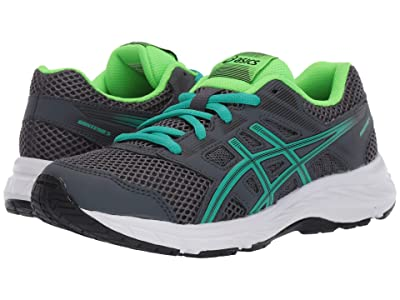 ASICS Kids Gel-Contend 5 (Big Kid) (Carrier Grey/Baltic) Boys Shoes
