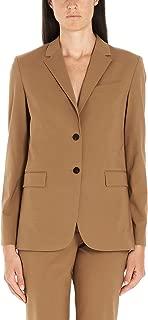 Luxury Fashion Womens I1201101XM0 Brown Blazer | Fall Winter 19
