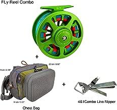 Aventik Z Fly Fishing Reel CNC Aluminum Trout 3/5, 5/7, 7/9wt Large Arbor Freshwater Fly Reel