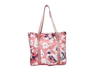 Vera Bradley Packable Tote (Strawberry Grand Garden) Tote Handbags