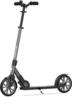 Swagtron K8 Titan Commuter Kick Scooter for Adults, Teens | Foldable, Lightweight w/ABEC-9 Wheel Bearings | Height-Adjustable, 220LB Max Load