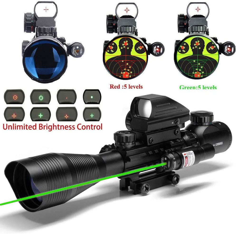 Unlimited Brightness Control - Best Holographic Sight