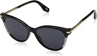 295/S Womens Cateye Sunglasses, 55mm