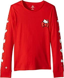 Hello Kitty® Long Sleeve Tee (Little Kids//Big Kids)