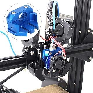 Full Metal Extruder Mount Block, Extruder Mount Block 3D Printers Extruder Mount Block for CR‑10 3D Printers
