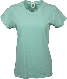 NWOT Fresh Produce Mint green V-Neck Tee T-shirt Medium soft comfortable cotton