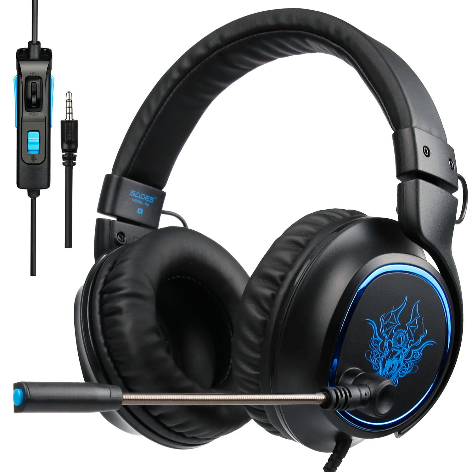 SADES Gaming Headset Headphones Microphone
