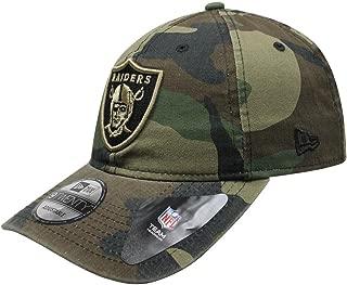 New Era Authentic Raiders Memorial Day Woodland Camo 9TWENTY Adjustable Hat
