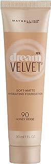 Maybelline New York Dream Velvet Soft-Matte Hydrating Foundation, Honey Beige, 1 fl. oz.