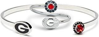 Gift Set-Love Georgia Ring and Bangle   Georgia Bulldogs Ring   UGA Jewelry   University of Georgia Jewelry   Georgia Bulldogs Bangle