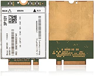 Wireless Card Module, Replacement Wireless EM7455 for Dell DW5811e 3P10Y Qualcomm 4G LTE WWAN NGFF Card Module