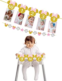 Best minnie mouse birthday banner with picture Reviews