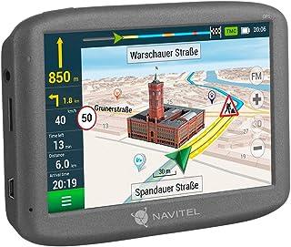 Navitel E200TMC GPS navigatiesysteem (5 inch/EU 15 kaarten liftime-updates gratis, TMC/POI/flitswaarschuwing/spraakgids / ...