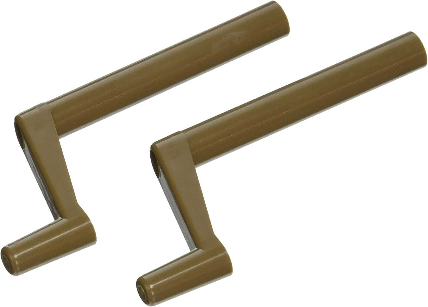 Window Handle 3-Inch Stem New mail order Brown 2 Pack Plastic of excellence