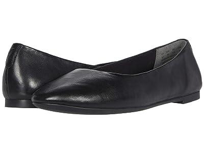 Hush Puppies Kendal Ballet PF (Black Leather) Women