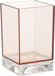 カルテル 歯ブラシスタンド ピンク W7/D7/H12cm ボクシートゥースブラシホルダー SFAC-K9962-RO【国内総代理店正規品】