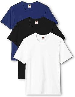 Fruit of the Loom Men's Heavy T-Shirt Pack of 3
