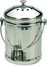 Good Ideas PAIL-SM Compost Pail Steel, 1/2-Gallon