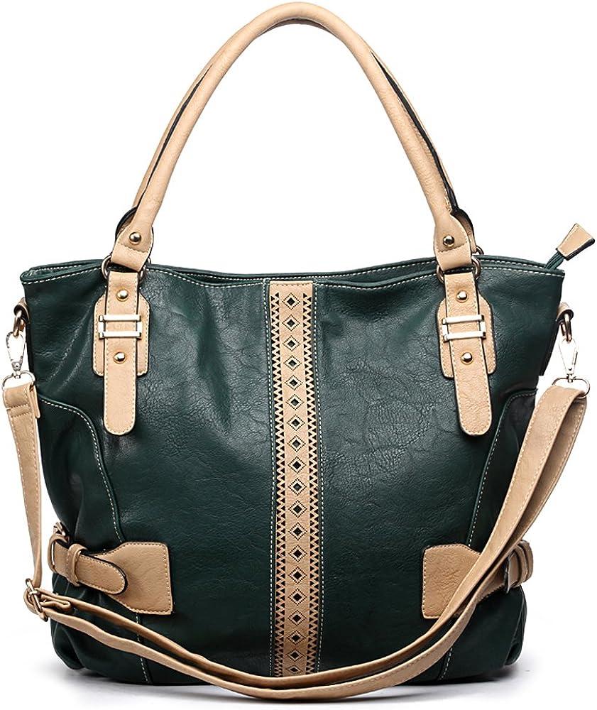 Special sale item Designer sale DS Color Block strap L bold Embossed stitching shoulder