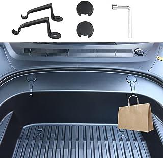 Carwiner Front Trunk Hook For Tesla Model 3 2021 Screw Cover Storage Box Hook Fastener Clip Interior Accessories