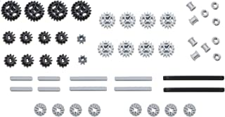 LEGO 50pc Technic gear & axle SET