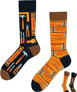 TODO COLOURS - Calcetines divertidos con diseño - Mejor ingeniero - Multicolor - Calcetines para individualistas hombre y ...