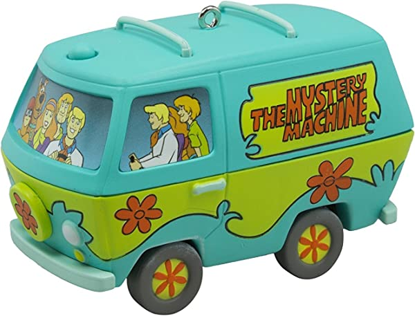 Hallmark 2016 Scooby Doo The Mystery Machine Musical Christmas Ornament