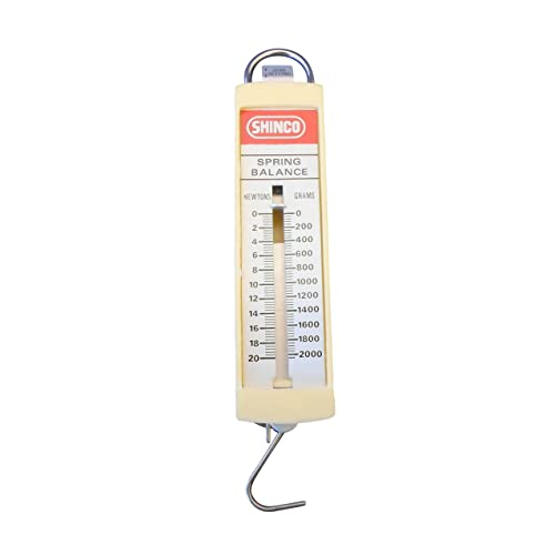 Dual-Calibration Spring Scale 500 g//5 N