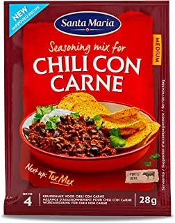 Santa Maria Tex Mex Chili Con Carne Spice Mix (Medium), 28 g