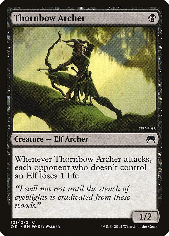 Magic Magic Magic  the Gathering  Thornbow Archer (121 272)  Origins 15a656