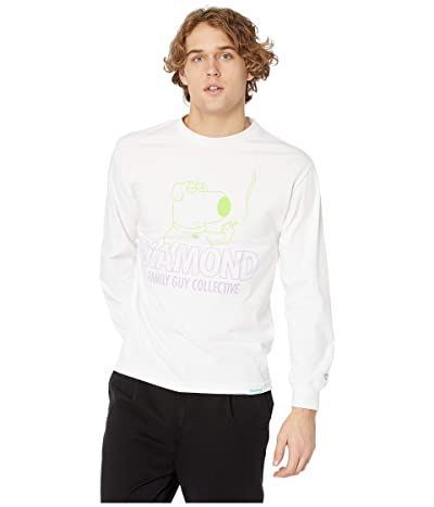 Diamond Supply Co. Diamond Family Guy Collection Long Sleeve (White) Men